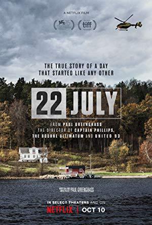 22 July - Titulky k filmům 22 July 2018 1080p WEBRip X264-METCON